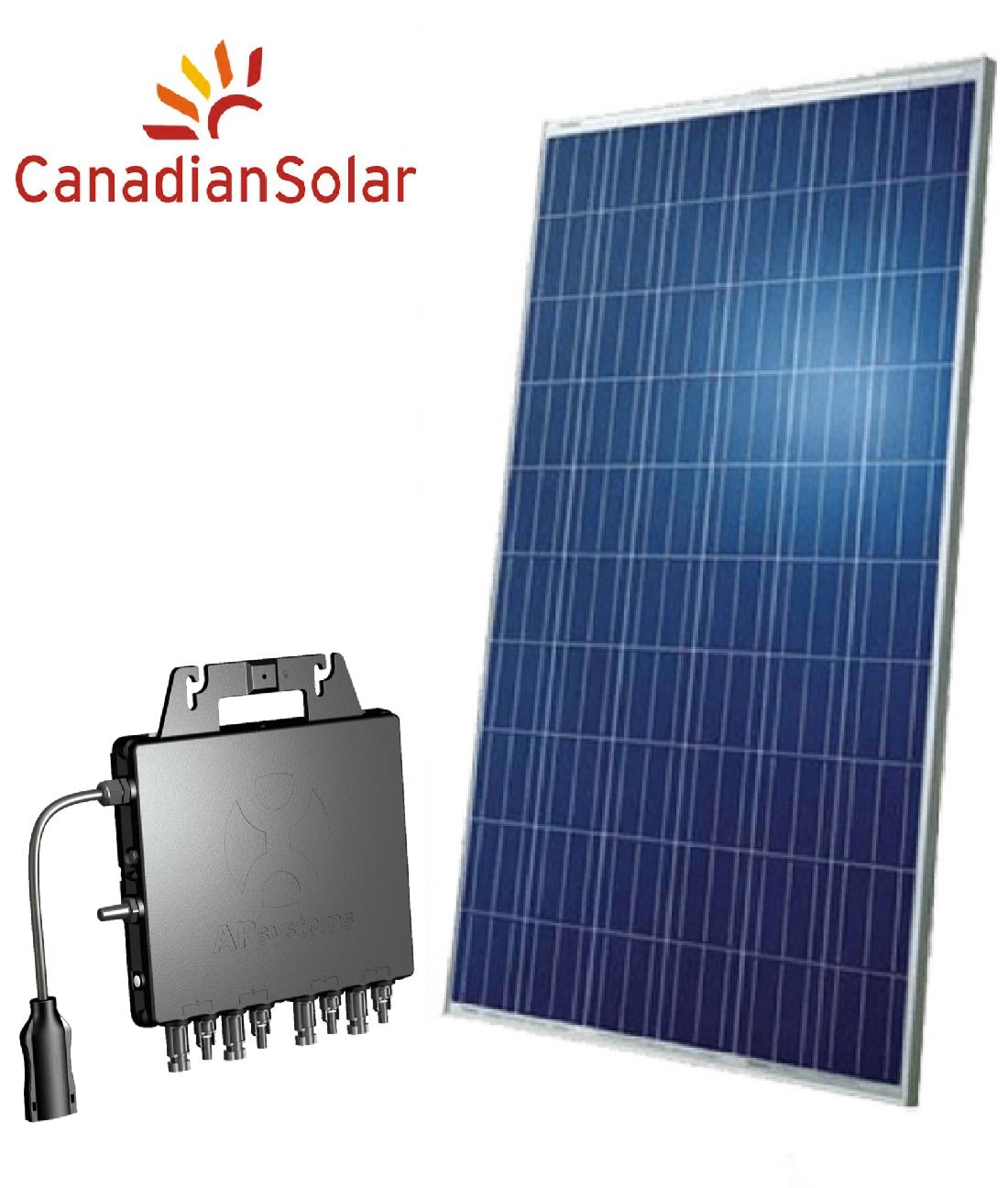 Kit Gerador de Energia Solar 1,32 kWp QS1 (220V) – Produção de até 148 kWh/mês*
