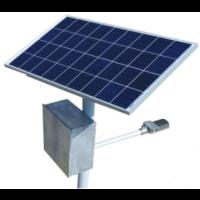 Poste Solar Lâmpada LED 15W