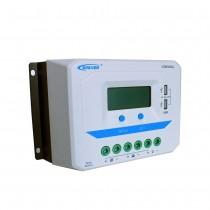 Controlador de Carga PWM com display de 60A (12/24/36/48V) VS6048AU