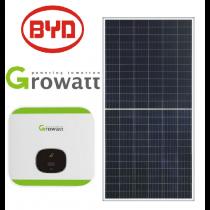 Kit Gerador de Energia Solar 2,68 kWp (220V) – Produção de até 451 kWh/mês*