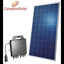 Kit Gerador de Energia Solar 0,355 kWp QS1 (220V) – Produção de até 55 kWh/mês*