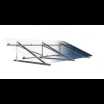 Estrutura para 4 paineis solar Romagnole para Laje