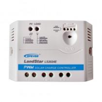 Controlador de Carga PWM de 20A (12V/24V) LS2024E