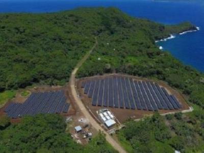 Tesla fornece energia solar a uma ilha inteira