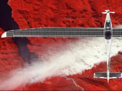 SolarStratus quer voar avião movido a energia solar para beira do espaço