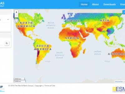 Banco Mundial lança mapa com potencial de energia solar
