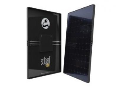 SolPad: dispositivo que integra painel solar, bateria e inversor