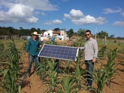 Governo da Paraíba incentiva uso de energia solar na agricultura familiar