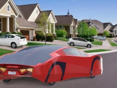 O primeiro carro esportivo a energia solar pode andar para sempre, diz site