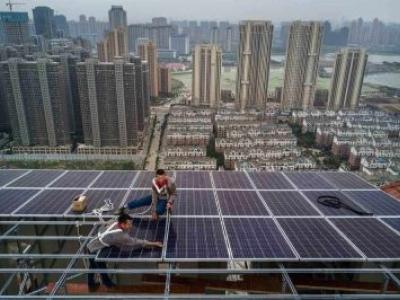 China impulsiona expansão da energia solar no mundo