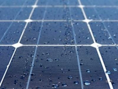 Esta nova célula solar híbrida pode captar eletricidade de pingos de chuva
