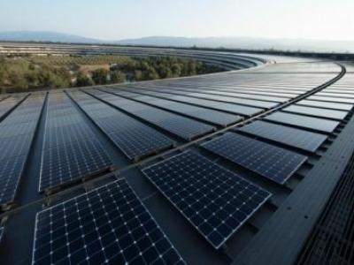 Apple é 100% movida a energia renovável