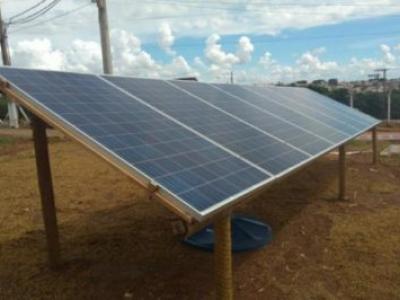 Investimento em painéis solares ajuda a melhorar as operações no campo