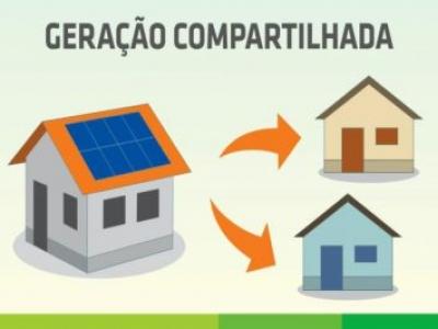Sistema de Empresa Solar pode ser compartilhado com residência