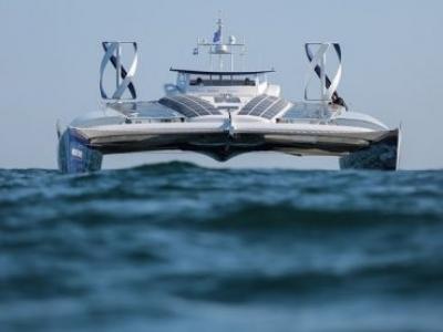 Barco fará viagem de 6 anos pelo mundo usando só energia renovável