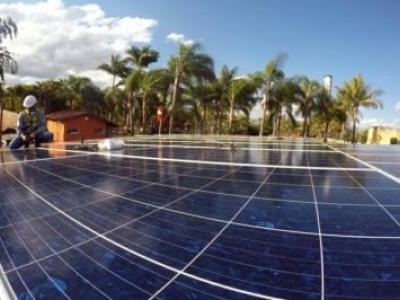 Novo Thermas de Piratininga inaugura usina de energia solar