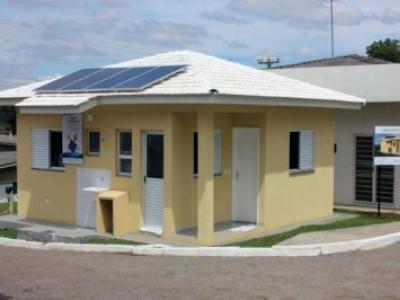 Modelo sustentável para Minha Casa Minha Vida terá energia solar e 98% do esgoto tratado no local