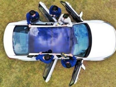 Hyundai terá painéis solares em seus carros