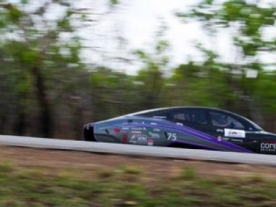 Estudantes australianos criam carro com menor consumo de energia do mundo