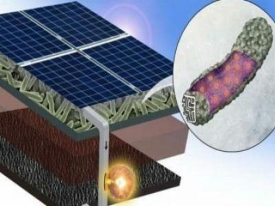 Painéis solares fotovoltaicos com bactérias vivas produz energia sem sol