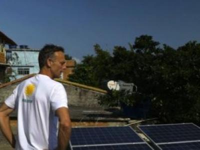 O belga que sonha em revolucionar favelas brasileiras com energia solar