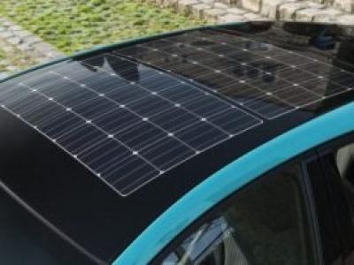 Painel solar fotovoltaico para carros elétricos lançado pela Panasonic