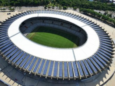 Conheça os estádios brasileiros que utilizam energia solar