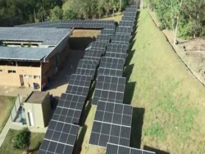 1ª estação de tratamento de esgoto com energia solar do Brasil é inaugurada em Mogi Mirim