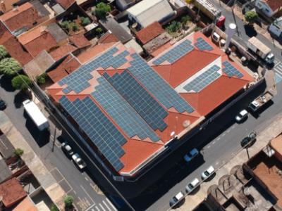 Projeto Grid-tie / LAPAS SUPERMERCADO Americo Brasiliense - SP