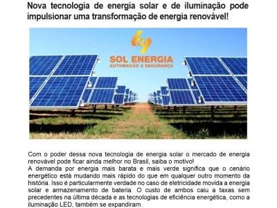 SOL ENERGIA AUTOMAÇÃO SEGURANÇA